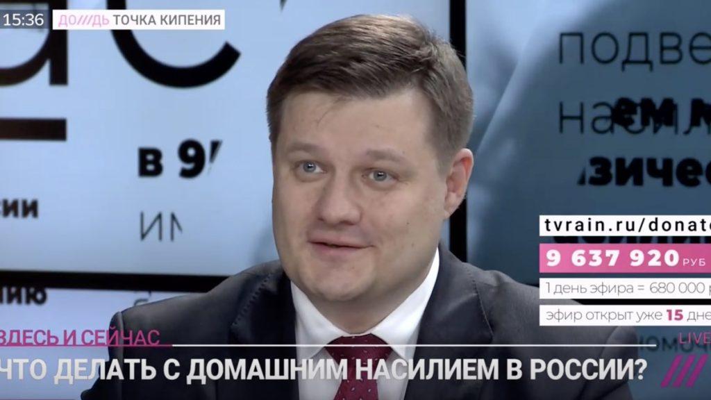 Адвокат Жаров в прямом эфире телеканала Дождь