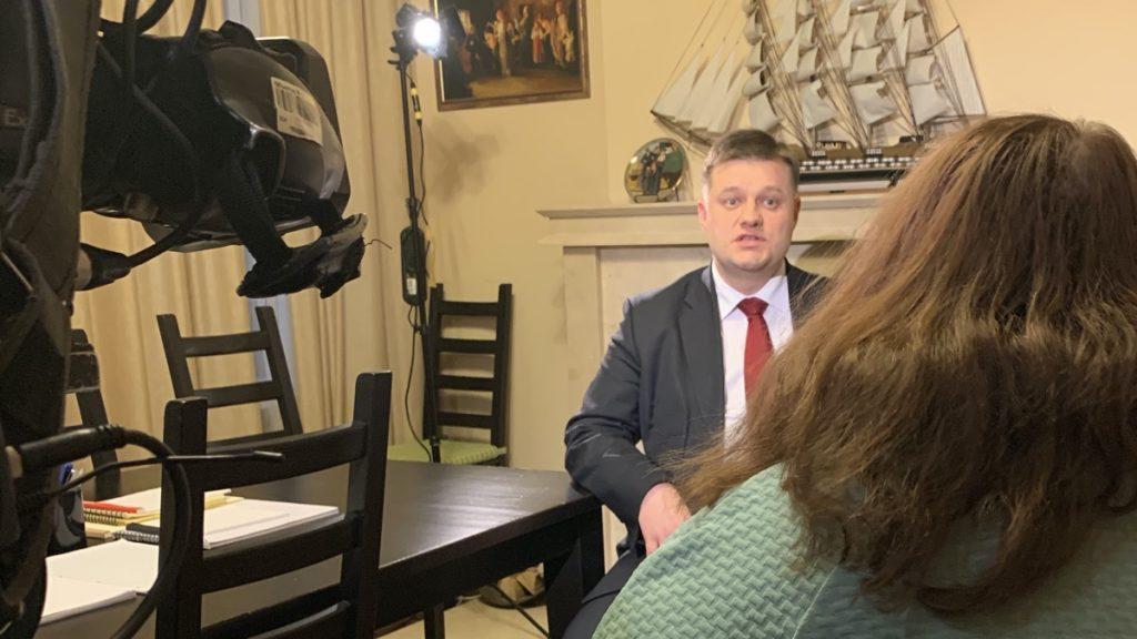 """Интервью телеканалу """"Россия-1"""""""
