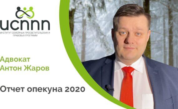 Отчет опекуна 2020